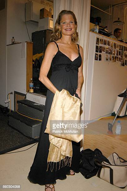 Robin Bell attends Lyn Devon Debut Collection and Cocktails at 463 Broome St on September 7 2005 in New York City