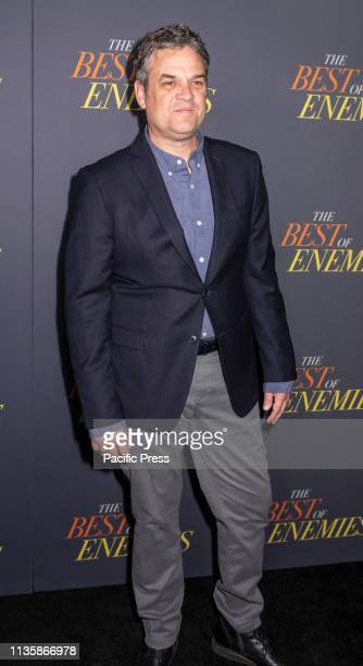 Robin Bissell attends 'The Best Of Enemies' New York Premiere at AMC Loews Lincoln Square Manhattan