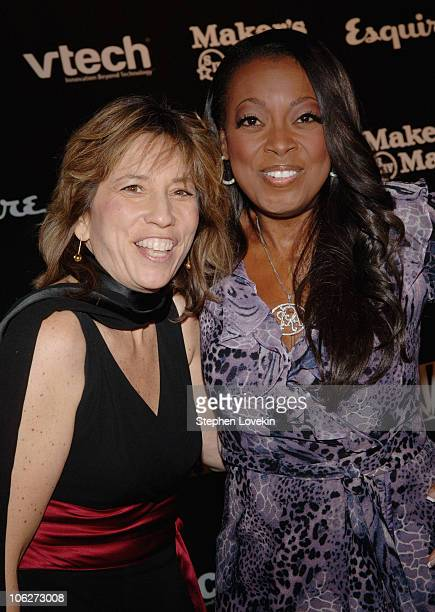 Robin Bronk and Star Jones during The Creative Coalition's 2005 Spotlight Awards Gala at Esquire Downtown at Astor Place in New York City New York...