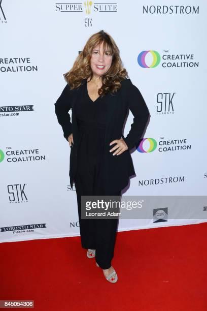 Robin Bronk attends the 2017 Creative Coalition Spotlight Initiative Gala Awards Dinner at STK Toronto on September 9 2017 in Toronto Canada