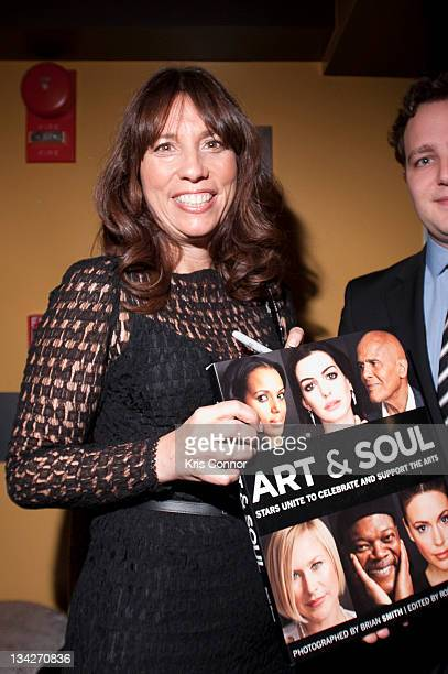 Robin Bronk attends the 'Art Soul' book signing reception at Lounge 201 on November 29 2011 in Washington DC