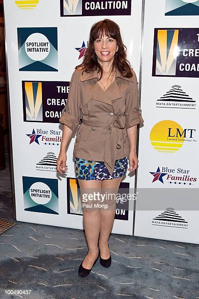 Robin Bronk attends the screening of 'The Dry Land' presented by The Creative Coalition at the Naval Heritage Center Theater on May 24 2010 in...