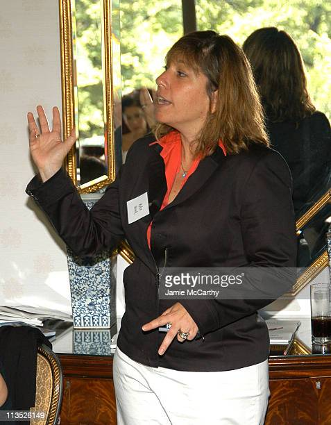 Robin Bronk during The Creative Coalition's Private TCC Meeting with House Minority Leader Nancy Pelosi at The Four Seasons Hotel in Boston...