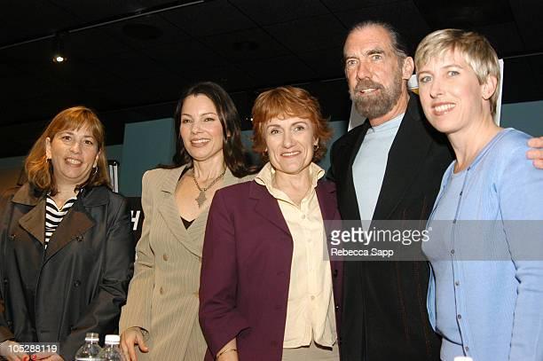 Robin Bronk Fran Drescher Martha Coolidge John Paul Dejoria and Los Angeles City Councilmember Wendy Greuel