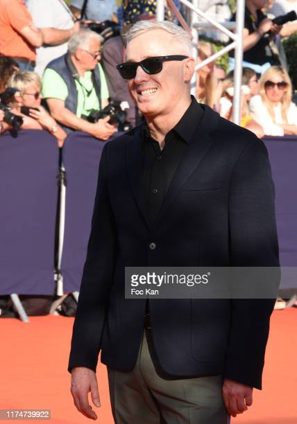 Robin Campillo attend the Award Ceremony during the 45th Deauville American Film Festival on September 14 2019 in Deauville France