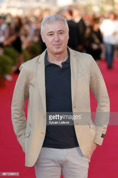 Robin Campillo attends closing ceremony red carpet of 31st Cabourg Film Festival on June 17 2017 in Cabourg France