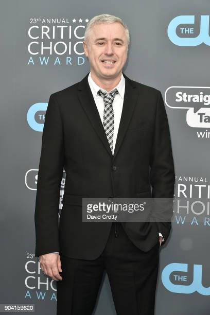 Robin Campillo attends The 23rd Annual Critics' Choice Awards Arrivals at The Barker Hanger on January 11 2018 in Santa Monica California