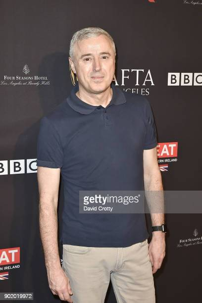 Robin Campillo attends The BAFTA Los Angeles Tea Party Arrivals at Four Seasons Hotel Los Angeles at Beverly Hills on January 6 2018 in Los Angeles...