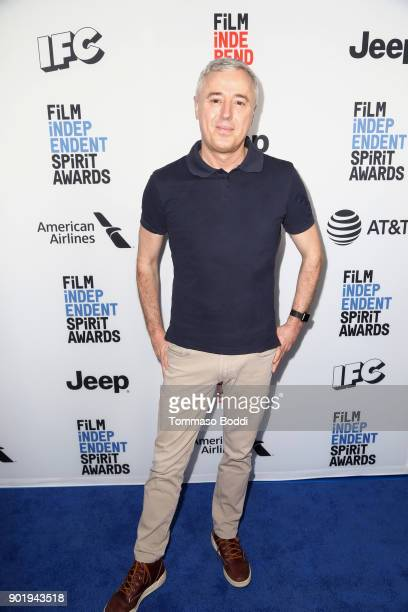 Robin Campillo attends the Film Independent Spirit Awards Nominee Brunch at BOA Steakhouse on January 6 2018 in West Hollywood California