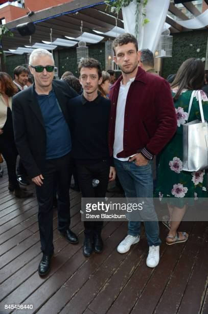 Robin Campillo Nahuel Perez Biscayart and Arnaud Valois attend The Orchard Party Celebrates Films at TIFF during the Toronto International Film...