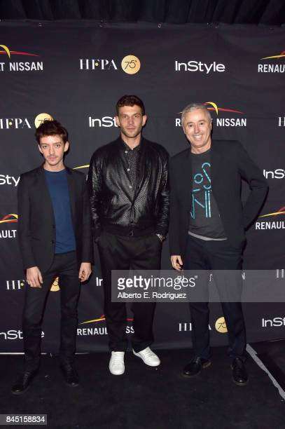 Robin Campillo Nahuel Pérez and Arnaud Valois attend the HFPA InStyle annual celebration of 2017 Toronto International Film Festival at Windsor Arms...