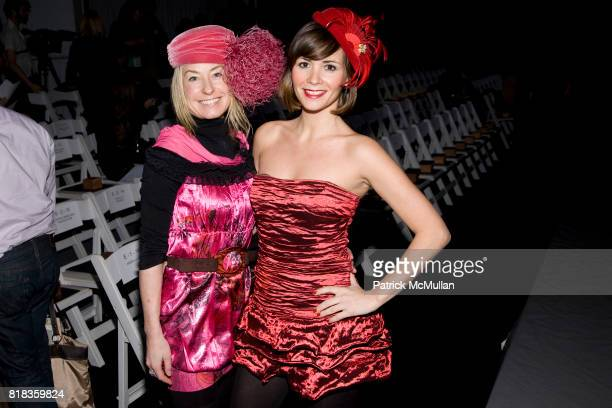 Robin Cofer and Paula Roman attend NICOLE MILLER Fall 2010 Collection at Bryant Park Tents on February 12 2010 in New York City