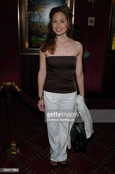 """Robin Cohen during """"The Life Aquatic with Steve Zissou"""" New York Premiere - Inside Arrivals at Ziegfeld Theater in New York City, New York, United..."""