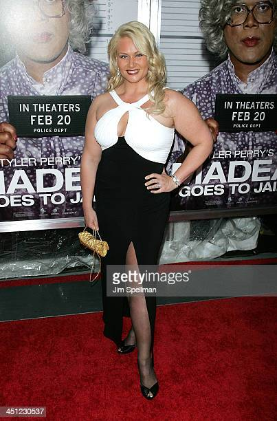 Robin Coleman attends the premiere of Tyler Perry's Madea Goes to Jail at the AMC Loews Lincoln Center on February 18 2009 in New York City