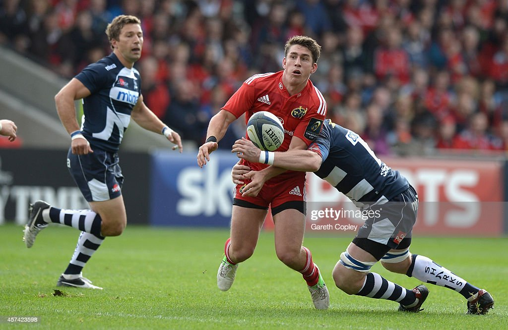 Sale Sharks v Munster Rugby - European Rugby Champions Cup : News Photo