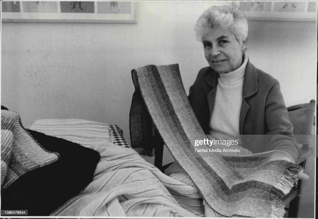 Robin Cosgrove In Her Rug At
