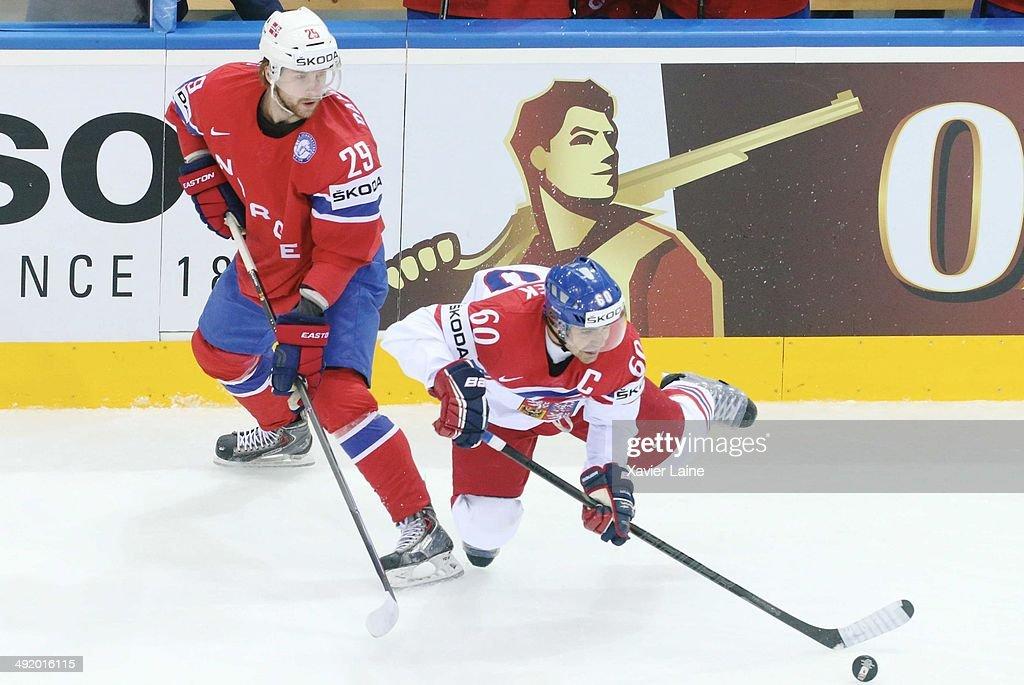 Norway v Czech Republic - 2014 IIHF World Championship