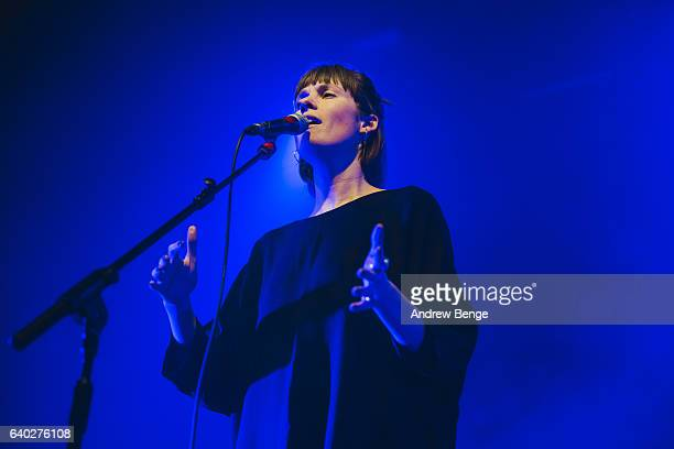 Robin Dann of Bernice performs at The O2 Ritz Manchester on January 28 2017 in Manchester England United Kingdom