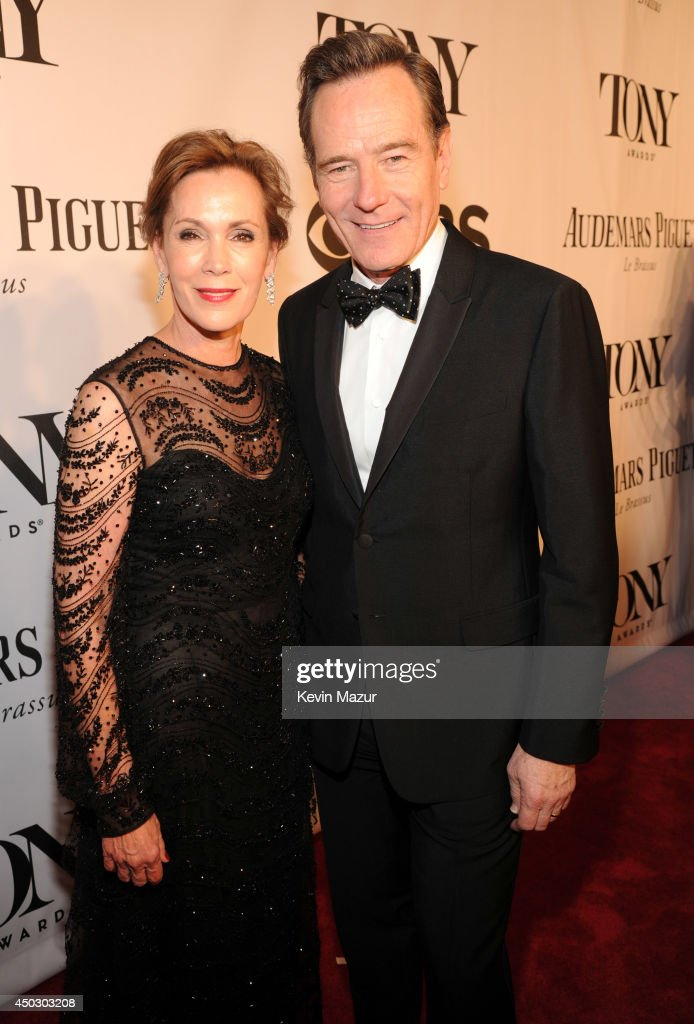 Robin Dearden and Bryan Cranston attend the 68th Annual Tony Awards at Radio City Music Hall on June 8, 2014 in New York City.