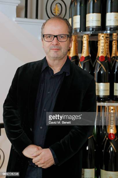 Robin Derrick attends the Moet Summer House VIP launch night on June 7 2018 in London England