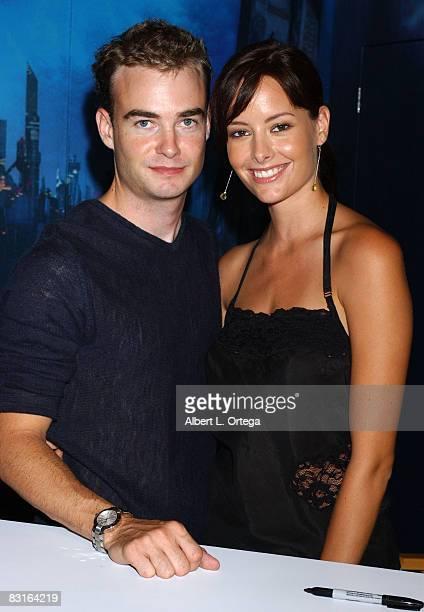 Robin Dunne and Amelia Cooke