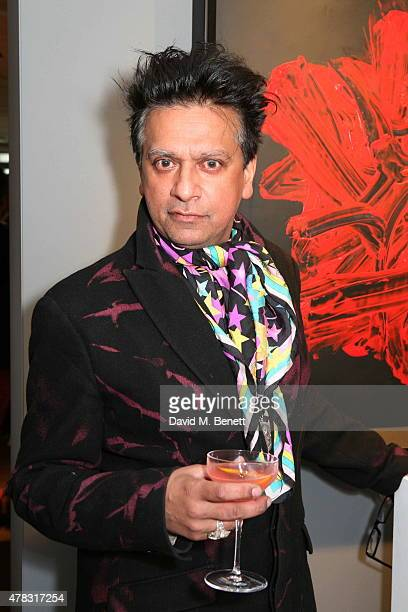 Robin Dutt arrives at the Private View of 'Firedance' the inaugural art exhibition of artist Michael Flatley at 12 Hay Hill on June 24 2015 in London...