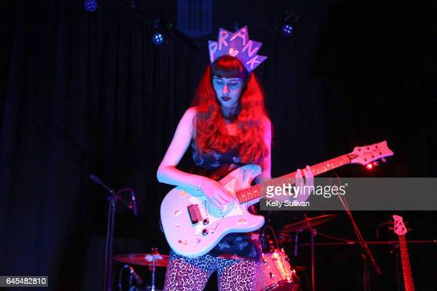 Robin Edwards performs onstage as Lisa Prank during the 25th annual Noise Pop Festival at Starline Social Club on February 25 2017 in Oakland...