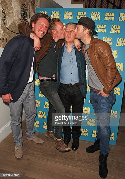 Robin Fox Laurence Fox James Fox and Jack Fox attend an after party following the press night performance of Dear Lupin at the Ham Yard Hotel on...