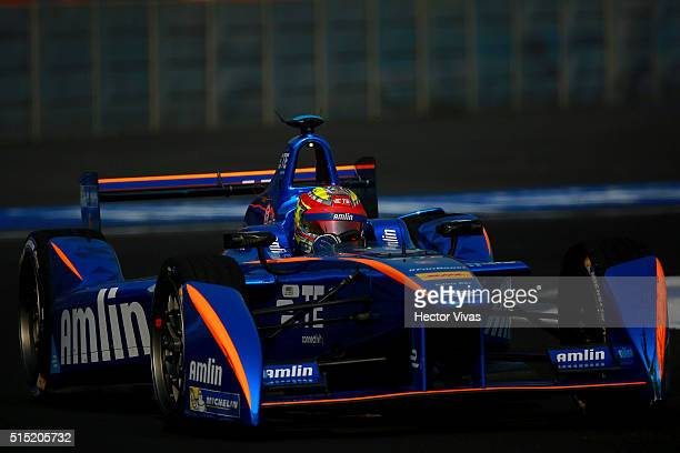 Robin Frijns of Netherlands and Andretti Formula E Race Team during the Mexico City Formula E Championship 2016 at Autodromo Hermanos Rodriguez on...