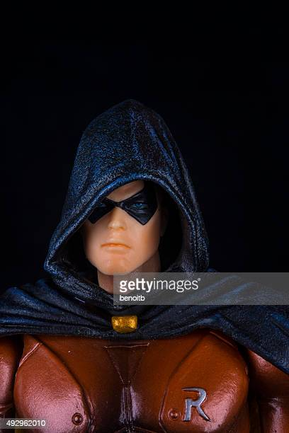 robin from batman - robin superhero stock pictures, royalty-free photos & images