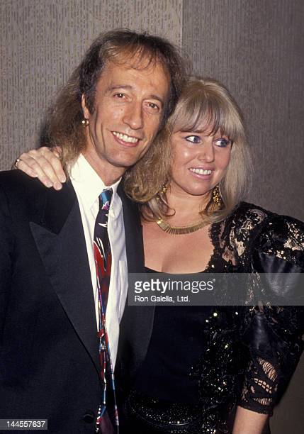 Robin Gibb and wife Dwina Murphy attend 25th Annual Songwriters Hall of Fame Awards Dinner on June 1, 1994 at the Sheraton Hotel in New York City.