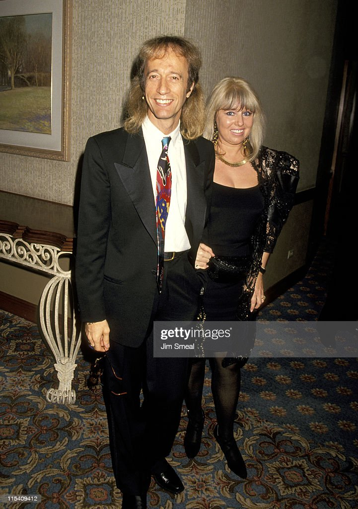 Robin Gibb and Wife Dwina Murphy-Gibb during 25th Annual Songwriters Hall of Fame Awards Dinner and Ceremony at Sheraton Hotel in New York, New York, United States.