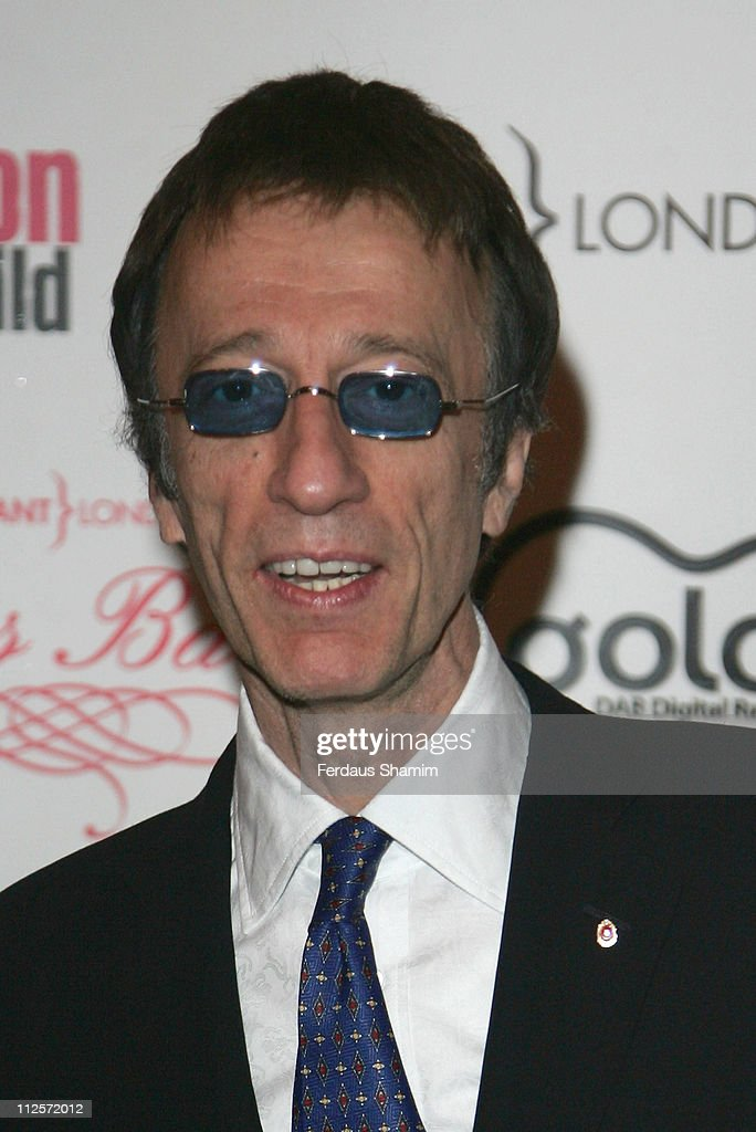 Robin Gibb attends The Archant London Press Ball at The Brewery November 17,2007 in London,England.