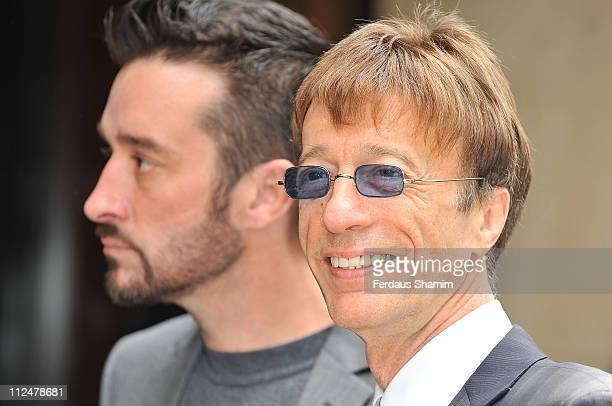 Robin Gibb attends the Ivor Novello Awards at Grosvenor House on May 21 2009 in London England