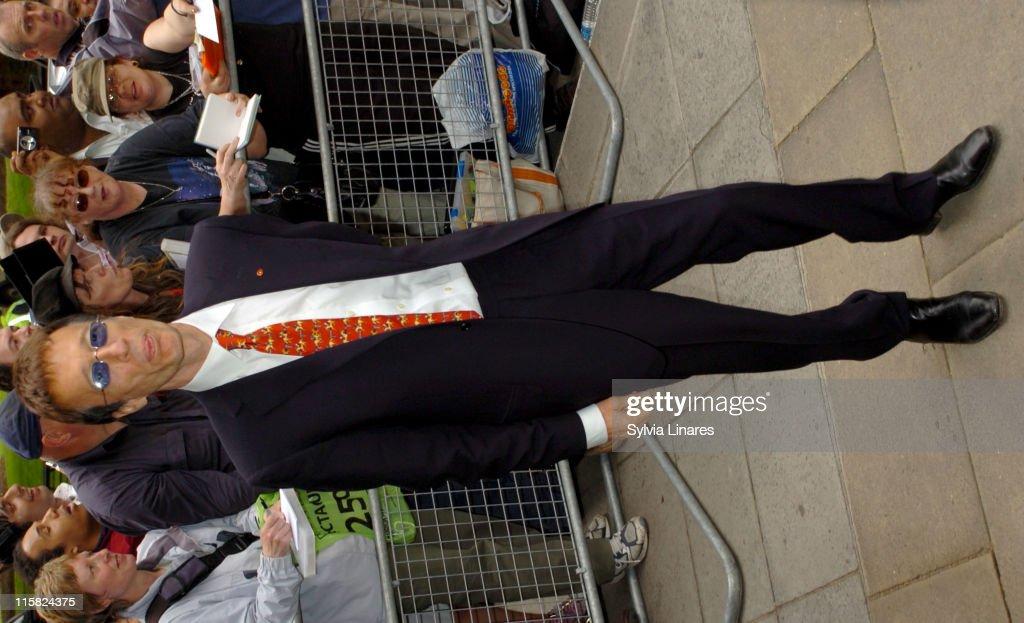 Robin Gibb during Ivor Novello Awards – Outside Arrivals at Grosvenor House in London, Great Britain.