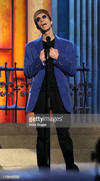 Robin Gibb during Jose Carreras Gala Dress Rehearsal in Berlin Berlin Germany
