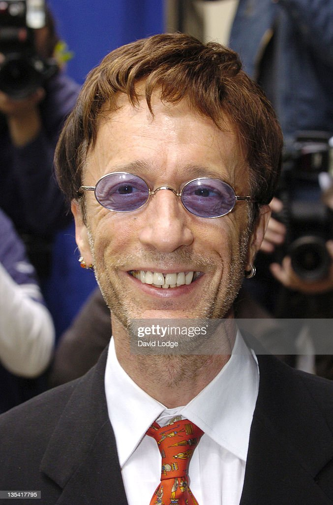 Robin Gibb during The 50th Ivor Novello Awards - Arrivals at Grosvenor House Hotel in London, Great Britain.