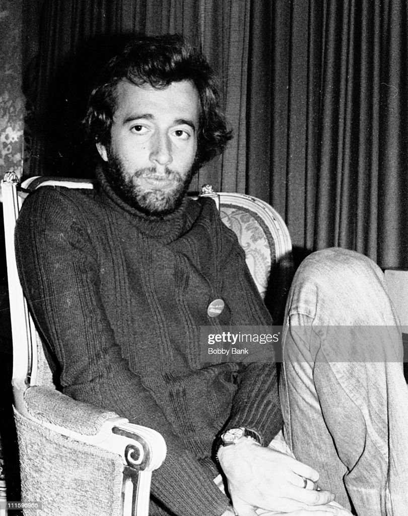 Robin Gibb during The Bee Gees In New York City - 1976 - 1979 at Plaza Hotel in New York City, New York, United States.