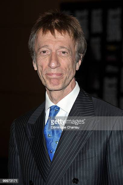 Robin Gibb from the Bee Gees attends the World Music Awards 2010 at the Sporting Club on May 18 2010 in Monte Carlo Monaco