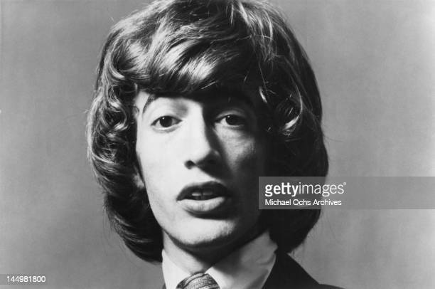 Robin Gibb of the pop group The Bee Gees poses for an Atco Records publicity still circa 1967