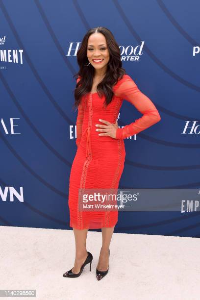 Robin Givens attends The Hollywood Reporter's Empowerment In Entertainment Event 2019 at Milk Studios on April 30 2019 in Los Angeles California