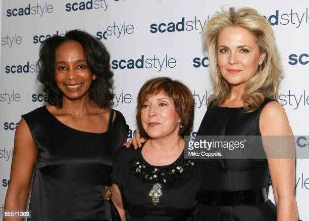 Robin Givhan, Paula S. Wallace and Cornelia Guest attend the Savannah College of Art and Design's annual Style Etoile Awards Gala at James Cohan...