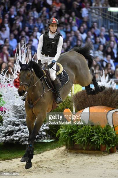 Robin GODEL of Switzerland riding Grandeur de Lully CH during the Cross Indoor sponsored by Tribune de Genève Rolex Grand Slam Geneva 2017