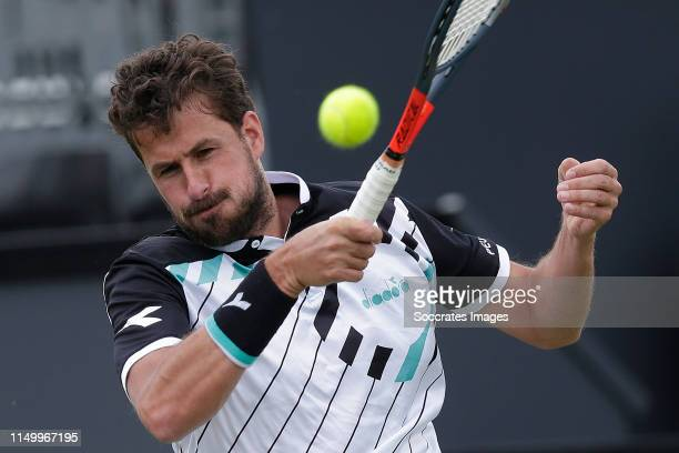 Robin Haase during the Libema Open Day 6 at the Autotron on June 13, 2019 in 's-Hertogenbosch Netherlands