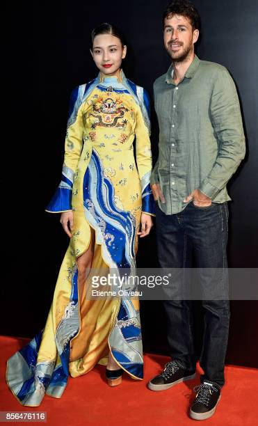 Robin Haase of the Netherlands attends the 2017 China Open Player Party at Beijing Olympic Tower on October 1, 2017 in Beijing, China.