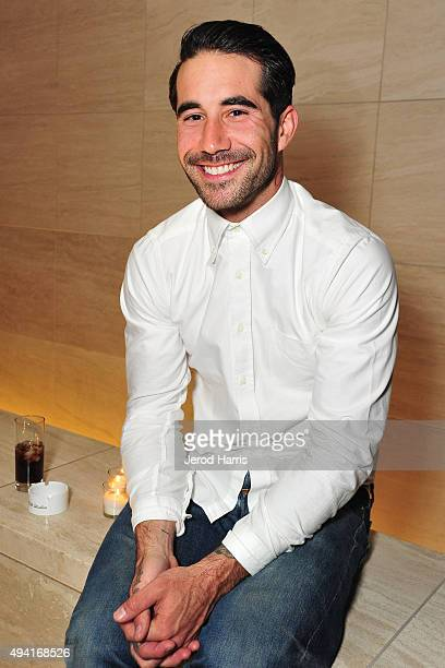 Robin Harper attends Flaunt Magazine and Luisaviaroma celebrate the contributors' launch of the CALIFUK issue at Milk Studios on October 24 2015 in...