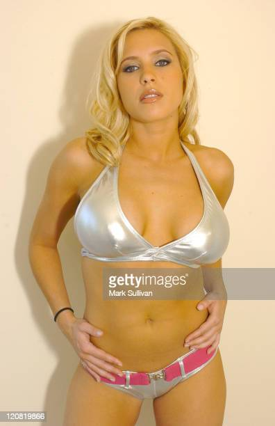 Robin Hibbard Real World during Michael Bezjian Reality Show Calendar Shoot at Private Residence in Los Angeles California United States
