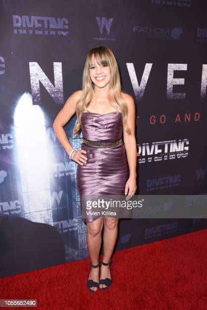 Robin Hines attends Never Heard Movie Premiere at AMC CityWalk Stadium 19 at Universal Studios Hollywood on October 30 2018 in Universal City...