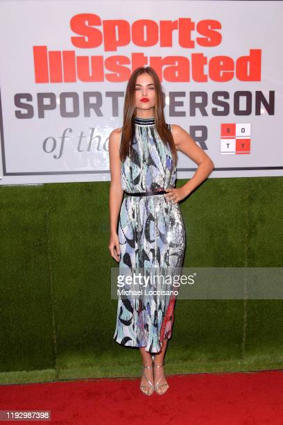 Robin Holzken attends the 2019 Sports Illustrated Sportsperson Of The Year at The Ziegfeld Ballroom on December 09 2019 in New York City