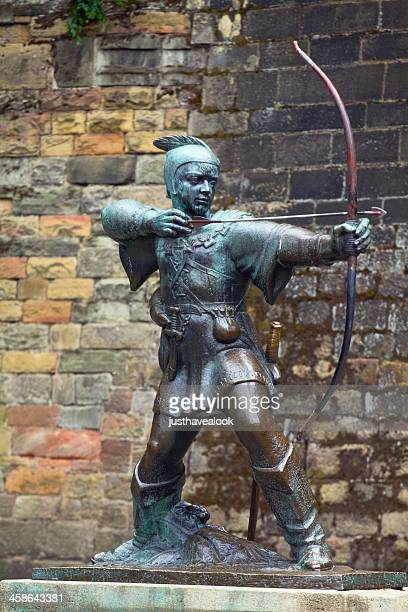 robin hood - nottingham stock photos and pictures